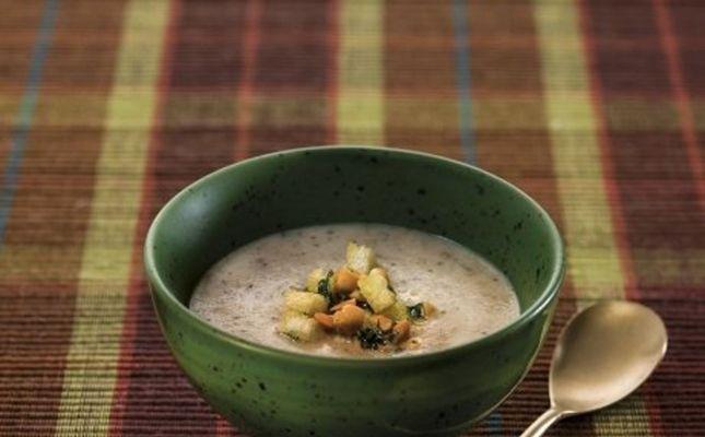 Sopa de fredolics i cacauets