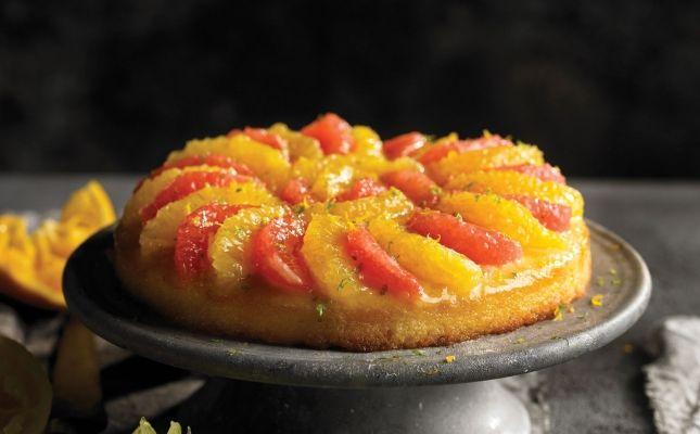 'Cake' de cítrics