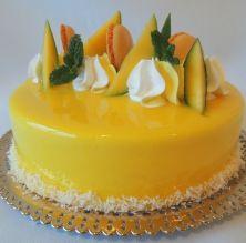 Mousse de mango i coco
