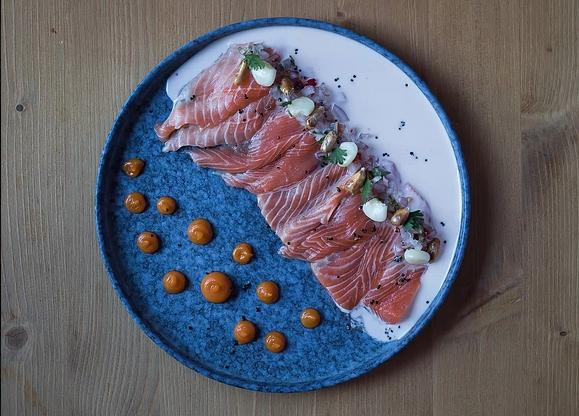 'Tiradito' de salmó