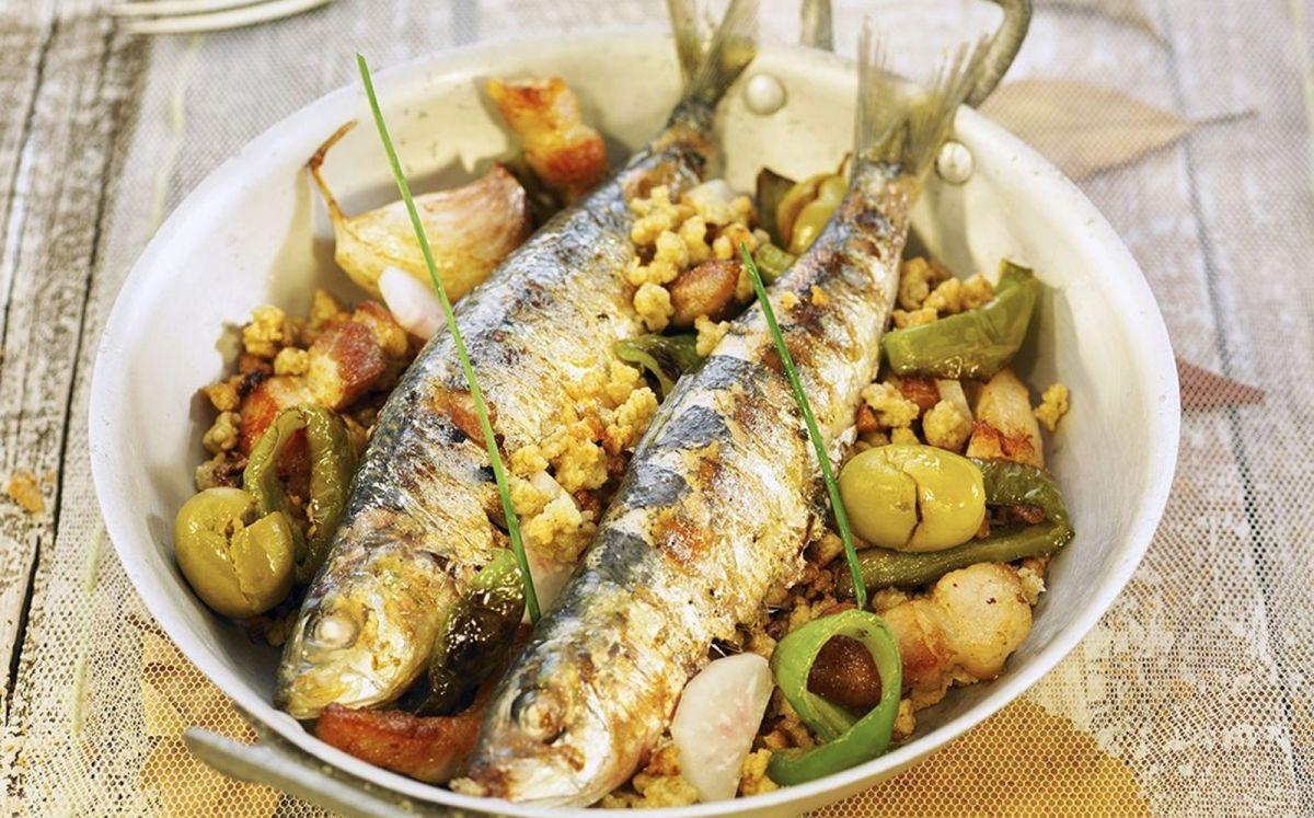 Sardines a la planxa / Becky Lawton