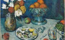 'Natura morta' de Pablo Picasso (1901), una de les obres que es poden veure a l'exposició 'La cuina de Picasso'