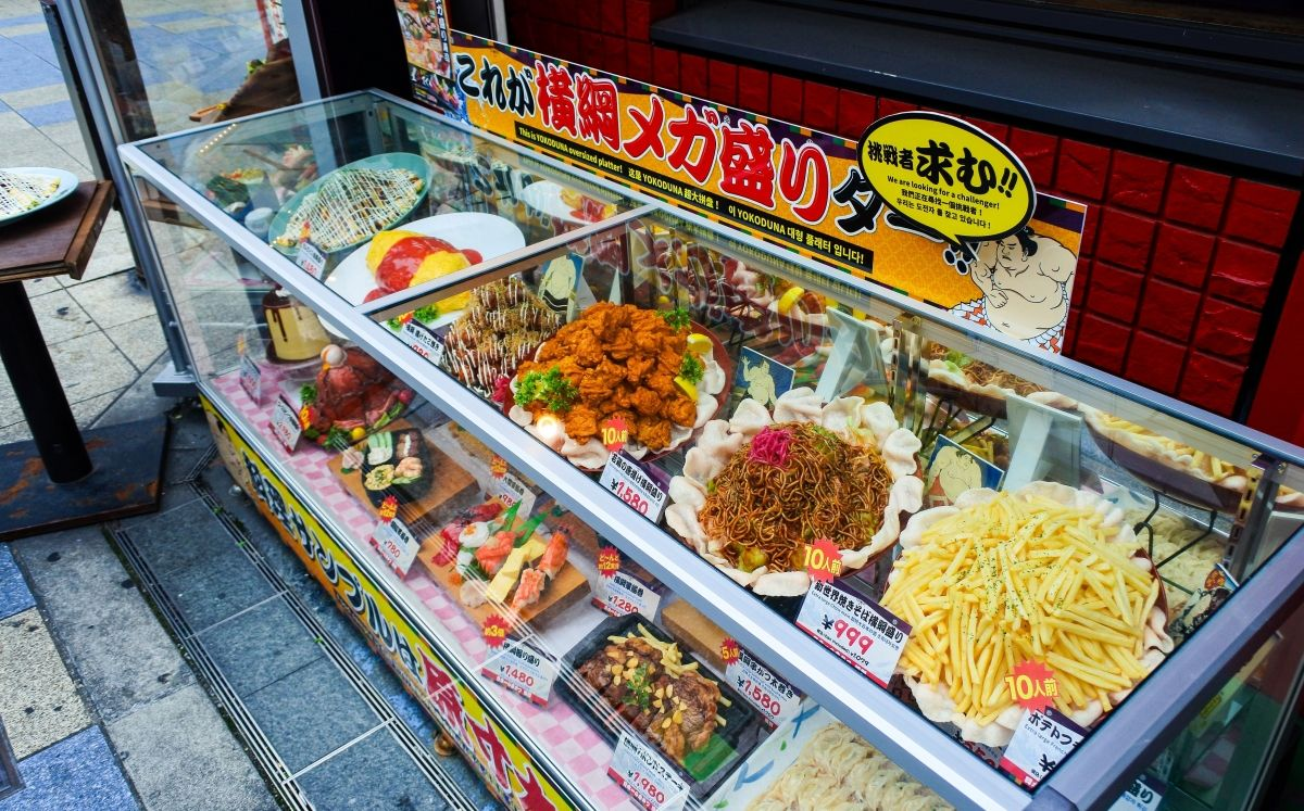 Punt de venda de menjar al carrer