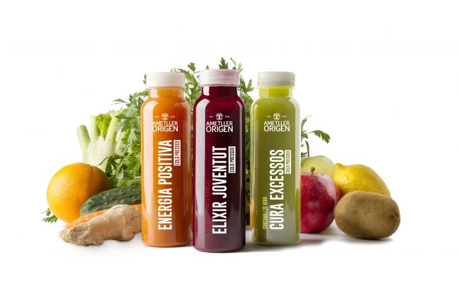 Smoothies Cold Press d'Ametller Origen