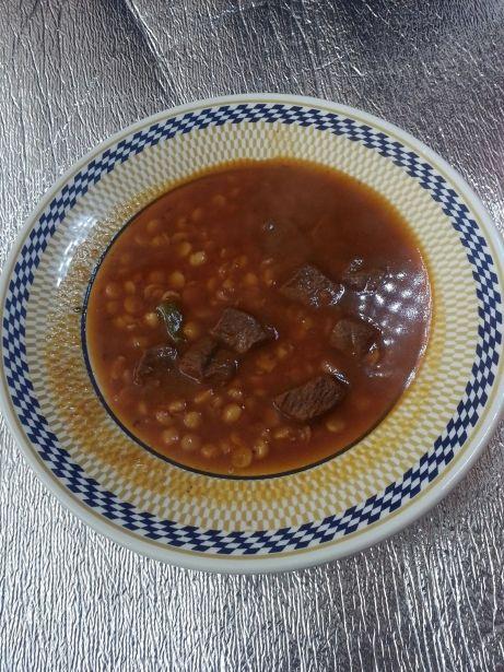 Plat de masoor dal, una sopa índia