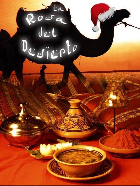Platos del restaurant La Rosa del Desierto