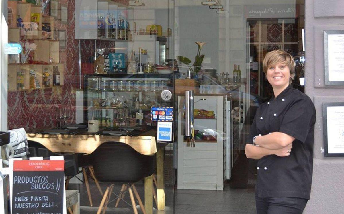 Nina Olsson, la cocinera propietaria del restaurant sueco Pappa Sven