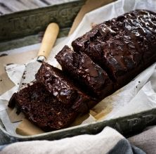 Pastís de plàtan i xocolata