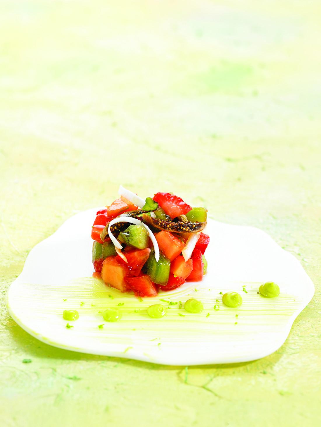 Cebiche de fruites