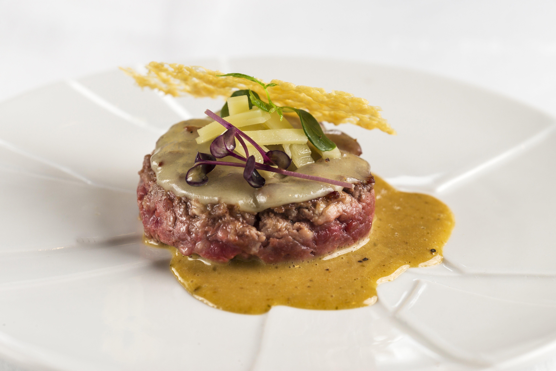 Hofmann burger amb Appenzeller fondant
