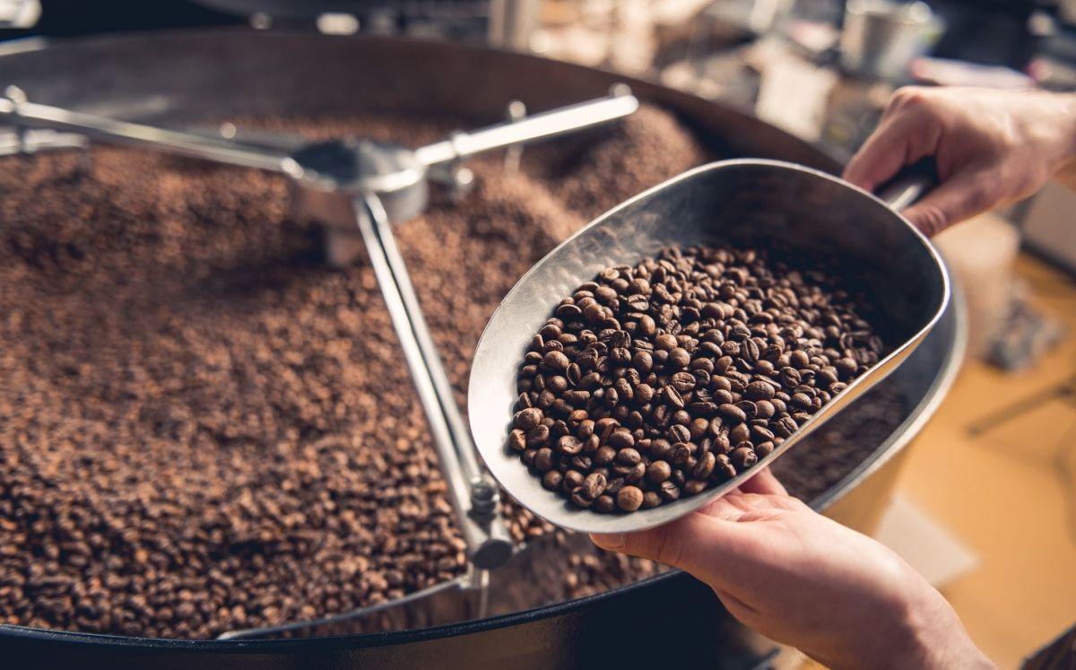 Cafè torrat a màquina