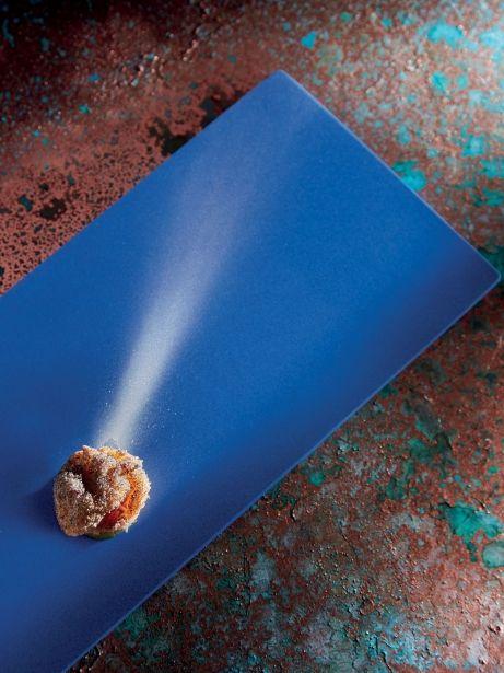 El cometa halley: croqueta de bacalao
