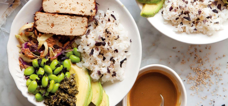 'Chirashi', arroz con crudités