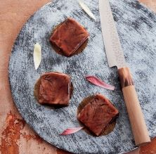 Llata de vedella amb salsa agredolça