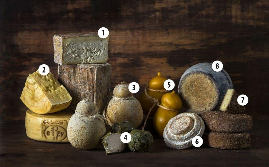 Formatges italians elaborats amb llet crua