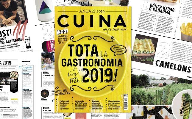 'Tota la Gastronomia del 2019'