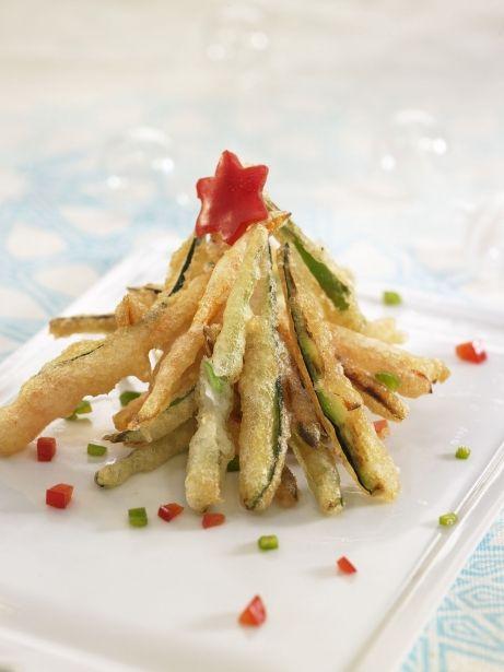 Arbre de verdures en tempura