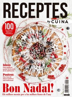 Portada 'Receptes by CUINA' número 8