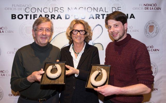 Guanyadors del Concurs Nacional de Botifarra d'Ou 2019