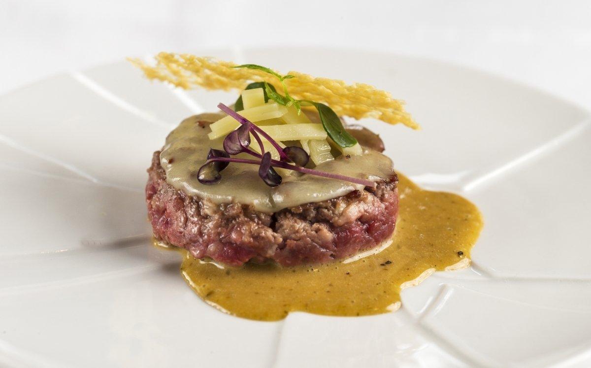 Hofmann burger amb appenzell fondant