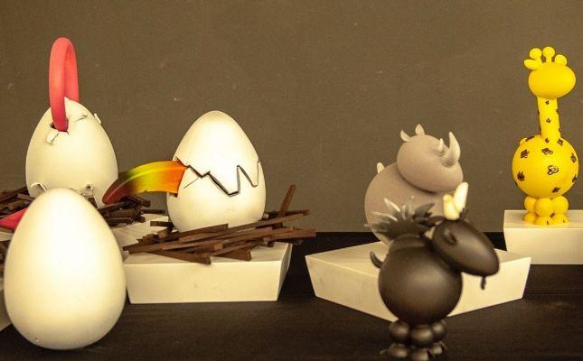Figures de xocolata