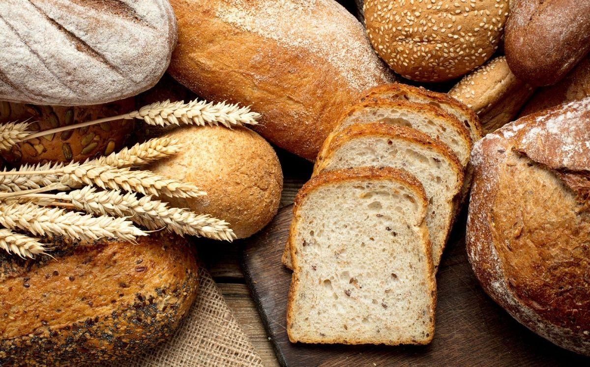 Diferents varietats de pa