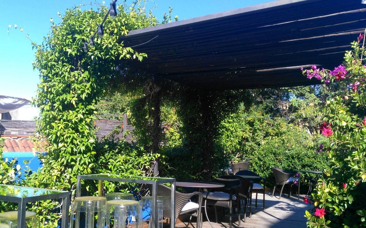 Hotel Neri, terrassa Roba Estesa