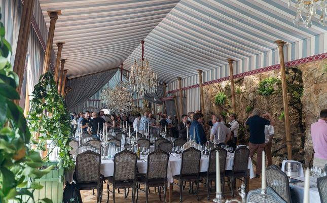 La Tente d'Apparat, el nou espai del restaurant Les Grands Buffets