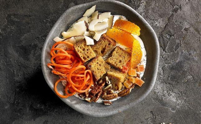 Pokebol carrot cake r