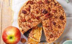 'Crumble' de pomes i pacanes