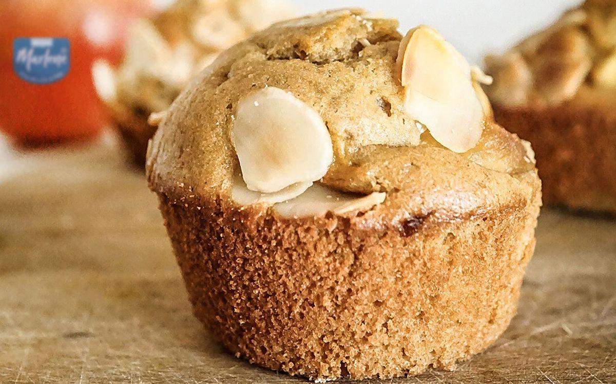 Muffin amb pomes caramel·litzades de Marlene i Green Mama