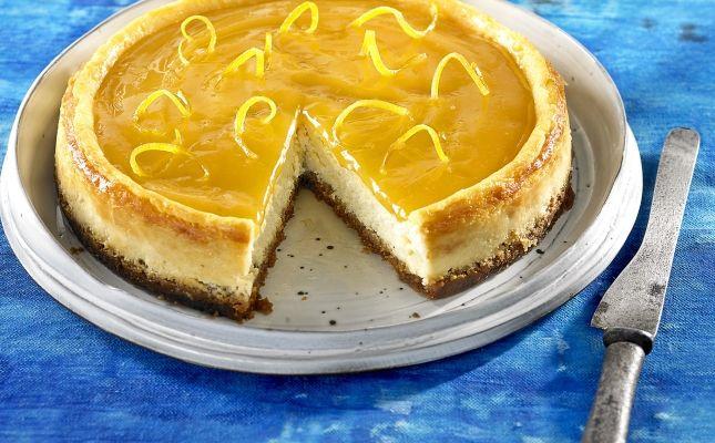 Pastís de formatge amb lemon curt