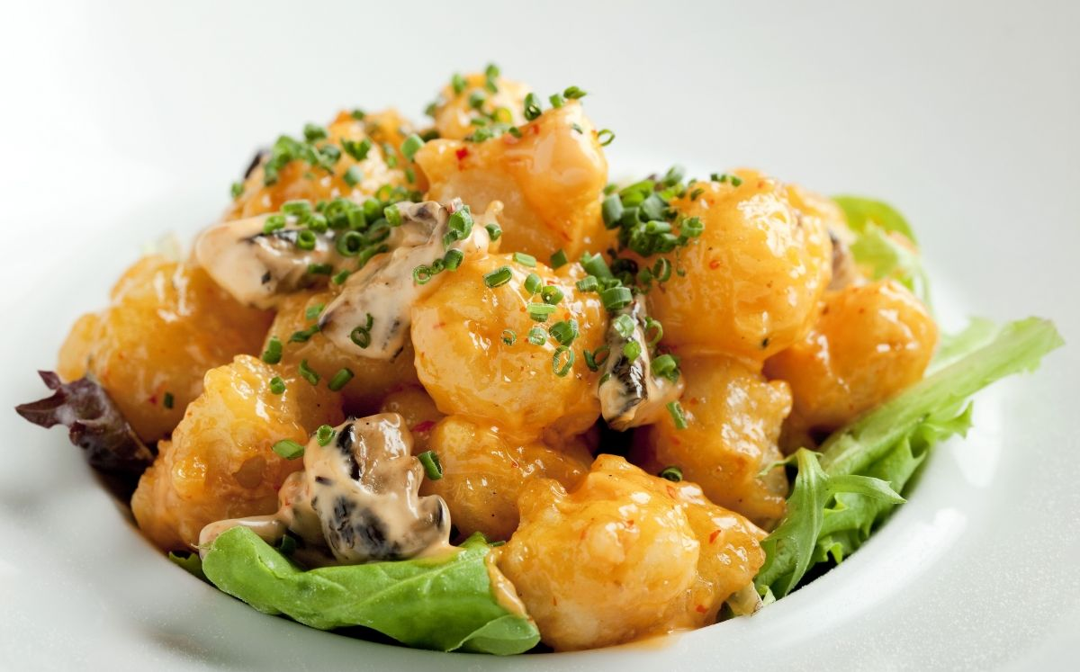 Rock Shrimp Creamy Spicy / Steven Freeman