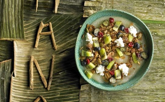 'Poke bowl' de granola