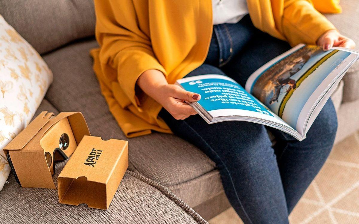 Amb la revista Apart rebreu unes ulleres de realitat virtual