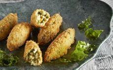Croquetes d'algues i arròs