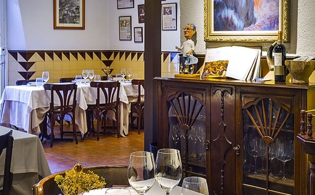 Restaurant Can Pineda, Barcelona