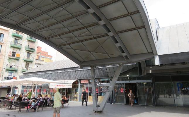 Exterior del Mercat de la Barceloneta