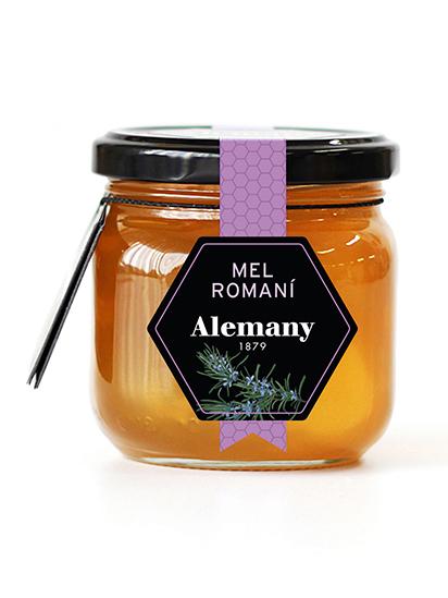 Alemany mel monofloral romaní