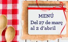 El menú de la setmana